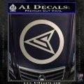 Red Arrow Speedy Roy Harper emblem DLB Decal Sticker Silver Vinyl 120x120
