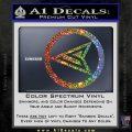 Red Arrow Speedy Roy Harper emblem DLB Decal Sticker Sparkle Glitter Vinyl 120x120