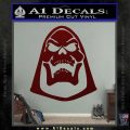 Skeletor Decal Sticker He Man D2 Dark Red Vinyl 120x120