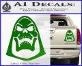 Skeletor Decal Sticker He Man D2 Green Vinyl 120x97