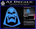 Skeletor Decal Sticker He Man D2 Light Blue Vinyl 120x97