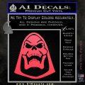 Skeletor Decal Sticker He Man D2 Pink Vinyl Emblem 120x120