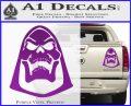 Skeletor Decal Sticker He Man D2 Purple Vinyl 120x97