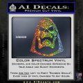 Skeletor Decal Sticker He Man D2 Sparkle Glitter Vinyl 120x120