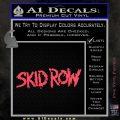 Skid Row Rock Band Vinyl Decal Sticker Pink Vinyl Emblem 120x120