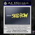 Skid Row Rock Band Vinyl Decal Sticker Yelllow Vinyl 120x120