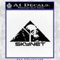 Skynet Skull Decal Sticker Black Logo Emblem 120x120