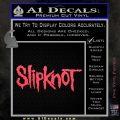 Slipknot Rock Band Vinyl Decal Sticker TXTS Pink Vinyl Emblem 120x120