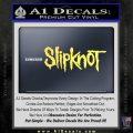 Slipknot Rock Band Vinyl Decal Sticker TXTS Yelllow Vinyl 120x120