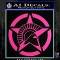 Spartan Ammo Star D2 Decal Sticker Hot Pink Vinyl 120x120