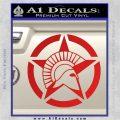 Spartan Ammo Star D2 Decal Sticker Red Vinyl 120x120