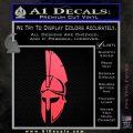 Spartan Decal Sticker D5 Pink Vinyl Emblem 120x120
