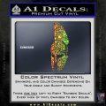 Spartan Decal Sticker D5 Sparkle Glitter Vinyl 120x120