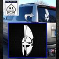 Spartan Decal Sticker D5 White Emblem 120x120