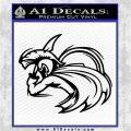 Spartan Fighter Decal Sticker SWSW Black Logo Emblem 120x120