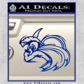 Spartan Fighter Decal Sticker SWSW Blue Vinyl 120x120
