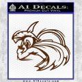Spartan Fighter Decal Sticker SWSW Brown Vinyl 120x120