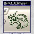 Spartan Fighter Decal Sticker SWSW Dark Green Vinyl 120x120