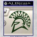 Spartan Helmet D13 Decal Sticker Dark Green Vinyl 120x120