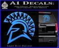 Spartan Helmet D13 Decal Sticker Light Blue Vinyl 120x97