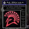 Spartan Helmet D13 Decal Sticker Pink Vinyl Emblem 120x120
