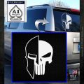 Spartan Punish Helmet Decal Sticker DM White Emblem 120x120