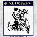 Spartan Warrior D14 Decal Sticker Black Logo Emblem 120x120