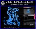 Spartan Warrior D14 Decal Sticker Light Blue Vinyl 120x97