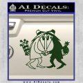 Spy vs Spy Vinyl Decal Sticker Dark Green Vinyl 120x120