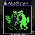 Spy vs Spy Vinyl Decal Sticker Lime Green Vinyl 120x120