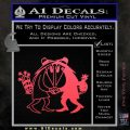 Spy vs Spy Vinyl Decal Sticker Pink Vinyl Emblem 120x120