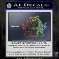 Spy vs Spy Vinyl Decal Sticker Sparkle Glitter Vinyl 120x120