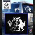 Spy vs Spy Vinyl Decal Sticker White Emblem 120x120