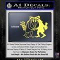 Spy vs Spy Vinyl Decal Sticker Yelllow Vinyl 120x120