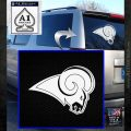 St. Louis Rams NFL Logo Decal Sticker White Emblem 120x120