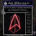 Star Trek Communicator D2 Decal Sticker Pink Vinyl Emblem 120x120