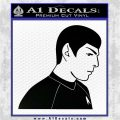 Star Trek Young Spock Decal Sticker Black Logo Emblem 120x120