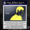 Star Trek Young Spock Decal Sticker Yelllow Vinyl 120x120
