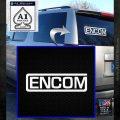 TRON ENCOM Logo Original Decal Sticker White Emblem 120x120