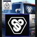 TRON Flynn Lives 89 Symbol Legacy Decal Sticker White Emblem 120x120