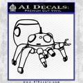 Tachikoma D2 Decal Sticker Ghost In The Shell Black Logo Emblem 120x120