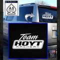 Team Hoyt Archery Decal Sticker DIS White Emblem 120x120