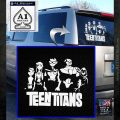 Teen Titans Logo Decal Sticker White Emblem 120x120