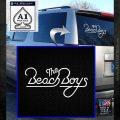 The Beach Boys Decal Sticker White Emblem 120x120