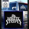 The White Stripes Rock Band Vinyl Decal Sticker White Emblem 120x120