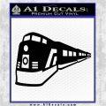 Train Decal Sticker Black Logo Emblem 120x120