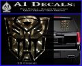 Transformer Autobots 3D Decal Sticker 3dc 120x97