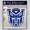Transformer Autobots 3D Decal Sticker Blue Vinyl 120x120
