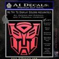 Transformer Autobots 3D Decal Sticker Pink Vinyl Emblem 120x120