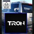 Tron Original Logo Vinyl Decal Sticker White Emblem 120x120